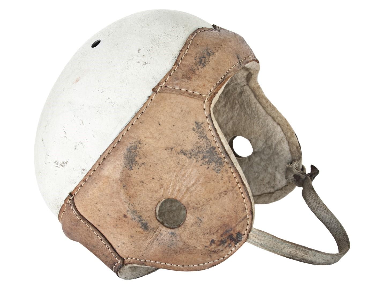 Old Style Football Helmet