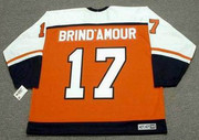 ROD BRIND'AMOUR Philadelphia Flyers 1997 CCM Throwback Away NHL Hockey Jersey - Back