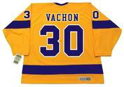 ROGIE VACHON Los Angeles Kings 1970's Home CCM NHL Vintage Throwback Jersey - BACK