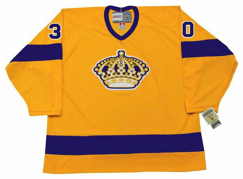 ROGIE VACHON Los Angeles Kings 1970's Home CCM NHL Vintage Throwback Jersey - FRONT