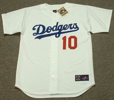 RON CEY Los Angeles Dodgers 1981 Majestic Cooperstown Throwback Home Jersey  - Custom Throwback Jerseys 2e1d44ec159