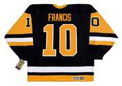 RON FRANCIS Pittsburgh Penguins 1992 CCM Vintage Away NHL Hockey Jersey
