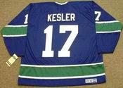 RYAN KESLER Vancouver Canucks 1970's CCM Vintage Throwback NHL Hockey Jersey