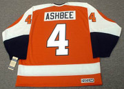 BARRY ASHBEE Philadelphia Flyers 1972 CCM Vintage Throwback Away NHL Jersey