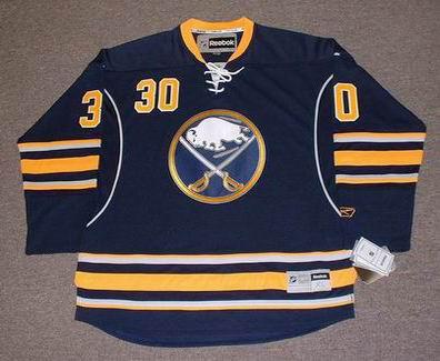 Reebok Ryan Miller Buffalo Sabres Blue Premier Jersey