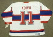 SAKU KOIVU Montreal Canadiens 1946 CCM Vintage Throwback NHL Hockey Jersey