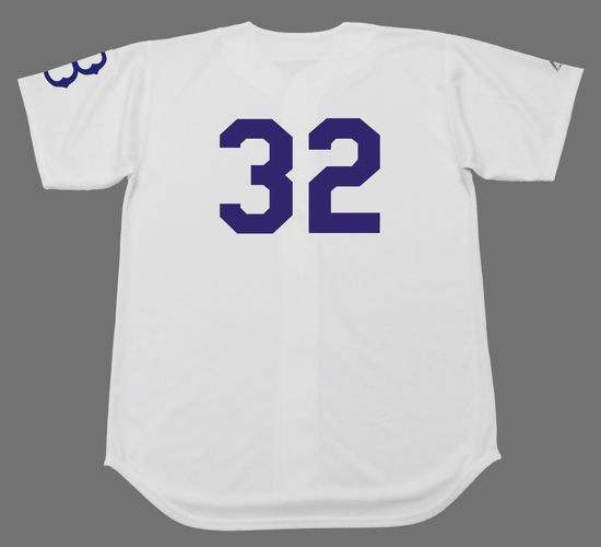 competitive price 0f89f 2afff SANDY KOUFAX Brooklyn Dodgers 1950's Home Majestic Baseball Throwback Jersey