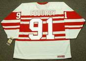 SERGEI FEDOROV Detroit Red Wings 1992 CCM Vintage Throwback NHL Hockey Jersey