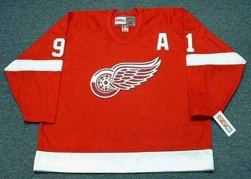 SERGEI FEDOROV Detroit Red Wings 2002 Away CCM Throwback NHL Hockey Jersey - FRONT