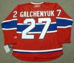 ALEX GALCHENYUK Montreal Canadiens 2015 REEBOK Throwback NHL Hockey Jersey
