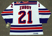 SERGEI ZUBOV New York Rangers 1994 CCM Vintage Throwback Home NHL Hockey Jersey
