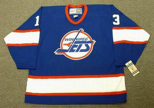 TEEMU SELANNE Winnipeg Jets 1992 Away CCM NHL Vintage Throwback Jersey - FRONT