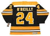 TERRY O'REILLY Boston Bruins 1974 CCM Vintage Throwback NHL Hockey Jersey