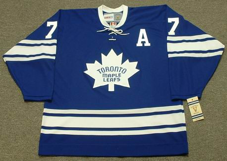 TIM HORTON Toronto Maple Leafs 1967 Home CCM NHL Vintage Throwback Jersey - FRONT