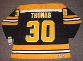 TIM THOMAS Boston Bruins 2006 CCM Vintage Throwback Home NHL Hockey Jersey