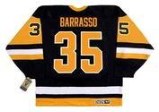TOM BARRASSO Pittsburgh Penguins 1992 CCM Vintage Away NHL Hockey Jersey
