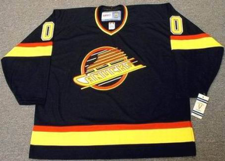 new arrival 868fa 87314 VANCOUVER CANUCKS 1990's CCM Vintage Jersey Customized