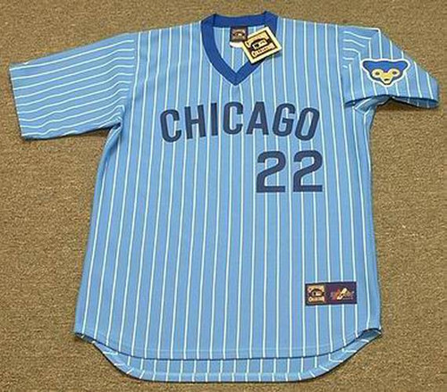 BILL BUCKNER Chicago Cubs 1978 Majestic Cooperstown Throwback Jersey - FRONT