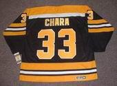 ZDENO CHARA Boston Bruins 2006 CCM Vintage Throwback Home NHL Hockey Jersey