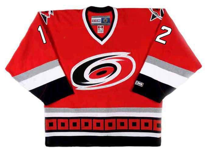 ERIC STAAL Carolina Hurricanes 2003 CCM Throwback Away NHL Hockey ... 0757d4194