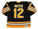 ADAM OATES 1994 CCM NHL Throwback Boston Bruins Away Jerseys - BACK