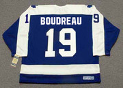 BRUCE BOUDREAU Toronto Maple Leafs 1978 Away CCM Throwback Hockey Jersey - BACK
