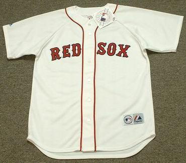 CARL YASTRZEMSKI Boston Red Sox 1983 Majestic Throwback Home Baseball Jersey  - Custom Throwback Jerseys 2201c003835