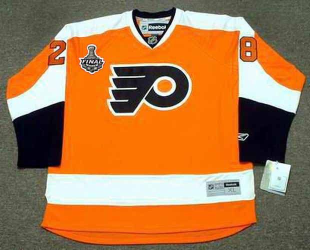 c79746370 CLAUDE GIROUX Philadelphia Flyers 2010 REEBOK Throwback NHL Hockey Jersey - Custom  Throwback Jerseys