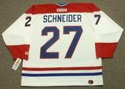 MATHIEU SCHNEIDER Montreal Canadiens 1993 CCM Throwback Home NHL Jersey