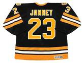 CRAIG JANNEY Boston Bruins 1990 CCM Vintage Throwback Away NHL Hockey Jersey