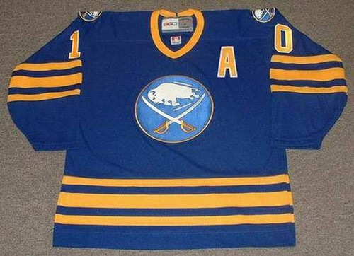DALE HAWERCHUK 1992 CCM Vintage Throwback NHL Buffalo Sabres Hockey Jersey - FRONT