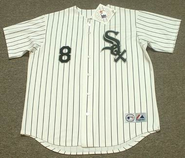 BO JACKSON Chicago White Sox 1993 Home Majestic Baseball Throwback Jersey - FRONT