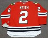 DUNCAN KEITH Chicago Blackhawks 2010 REEBOK Throwback NHL Hockey Jersey