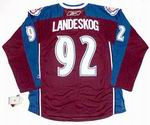 GABRIEL LANDESKOG Colorado Avalanche 2015 REEBOK Throwback NHL Hockey Jersey