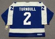IAN TURNBULL Toronto Maple Leafs 1978 Away CCM Throwback Hockey Jersey - BACK