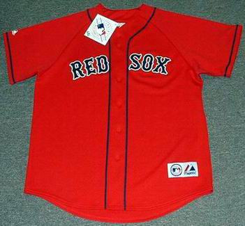detailed look 1c5b5 35665 JON LESTER Boston Red Sox 2010 Majestic Throwback Alternate Baseball Jersey