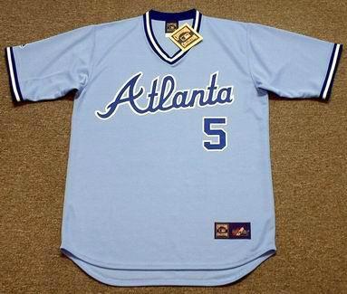promo code f42dd 6daf7 vintage atlanta braves jersey