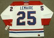 JACQUES LEMAIRE Montreal Canadiens 1978 CCM Throwback Home NHL Jersey