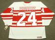 1992 CCM Vintage Throwback BOB PROBERT Detroit Red Wings Jersey - BACK