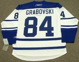 MIKHAIL GRABOVSKI Toronto Maple Leafs 2008 REEBOK Throwback NHL Hockey Jersey