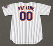 NEW YORK METS 1970's Home Majestic Customized Baseball Throwback Jersey - BACK