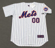 NEW YORK METS 1970's Home Majestic Customized Baseball Throwback Jersey - FRONT