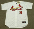 BOB UECKER St. Louis Cardinals 1964 Home Majestic Baseball Throwback Jersey - Front