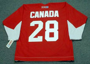 BOBBY CLARKE Team Canada 1972 CCM Throwback Hockey Jersey - Back