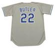 BRETT BUTLER Los Angeles Dodgers 1992 Away Majestic Baseball Throwback Jersey - BACK