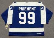 WILF PAIEMENT Toronto Maple Leafs 1980 Away CCM Vintage Throwback Hockey Jersey - BACK