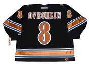 ALEXANDER OVECHKIN Washington Capitals 2005 Home CCM NHL Vintage Throwback Jersey - BACK