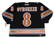 Alexander Ovechkin 2005 Washington Capitals NHL Throwback Home Jersey - BACK