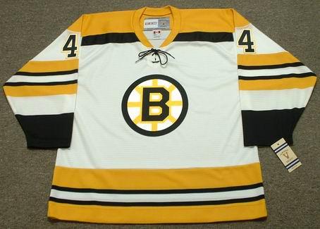 BOBBY ORR 1972 Home CCM NHL Throwback Boston Bruins Jerseys - FRONT