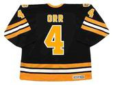 BOBBY ORR Boston Bruins 1975 Away CCM Vintage Throwback NHL Hockey Jersey - BACK